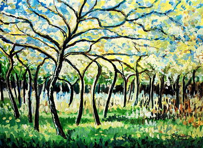 Painting - Flourish by Elizabeth Robinette Tyndall