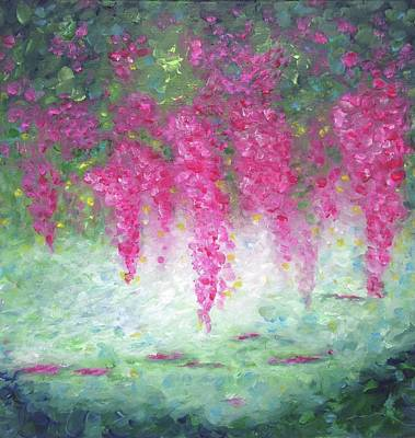 Painting - Flourish by T Fry-Green