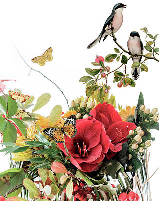 Gloria Digital Art - Flourishing by Gloria Sanchez