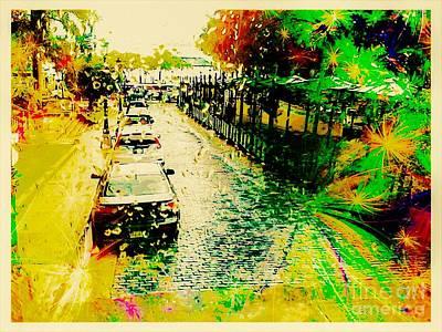 Puerto Rico Digital Art - Flourishing Puerto Rico by Caroline Gilmore