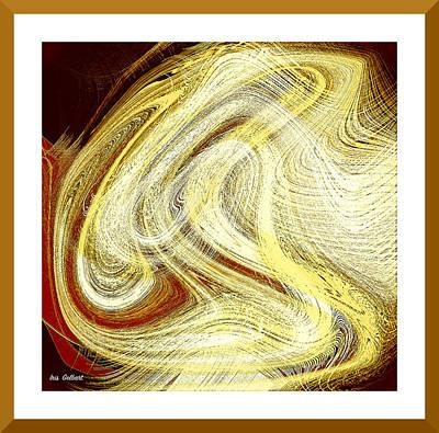Digital Art - Flow 4 by Iris Gelbart