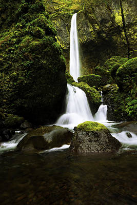 Waterfall Photograph - Flow by Chad Dutson