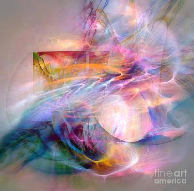 Digital Art - Flow by Helene Kippert