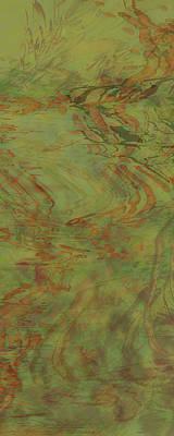 Flow Improvement In The Grass Art Print