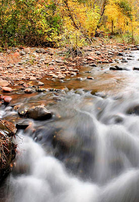 Photograph - Flow In Sedona by Kristin Elmquist