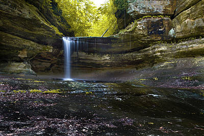 Starved Rock Wall Art - Photograph - Flow by Jason Wolters