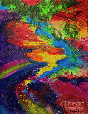 Painting - Flow by Jeanette French