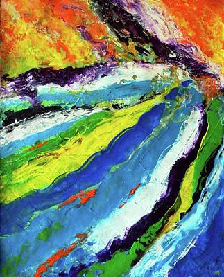 Painting - Flowage by Everette McMahan jr