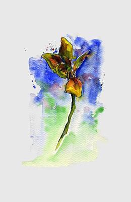 Painting - Flower 2 Shirt by John D Benson