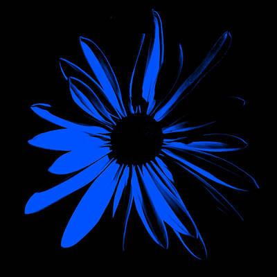 Art Print featuring the digital art Flower 4 by Maggy Marsh