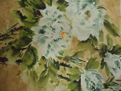 Flower -727-2 Art Print