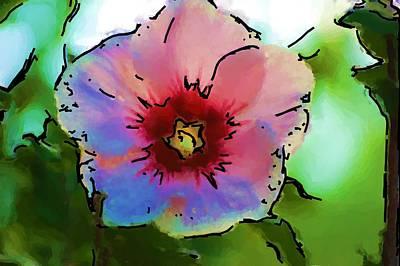 Photograph - Flower 8-15-09 by David Lane