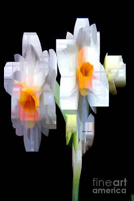 Digital Art - Flower 9208 by Rafael Salazar