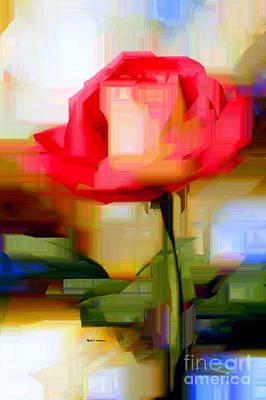 Digital Art - Flower 9213 by Rafael Salazar