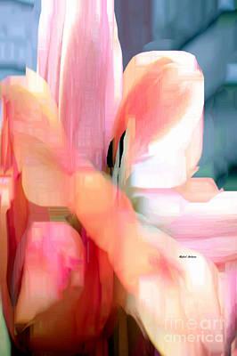 Modern Feathers Art - Flower 9218 by Rafael Salazar