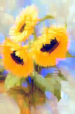 Digital Art - Flower 9235 by Rafael Salazar