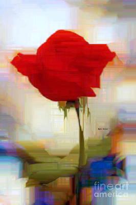 Digital Art - Flower 9241 by Rafael Salazar
