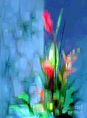 Digital Art - Flower 9264 by Rafael Salazar