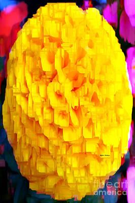Digital Art - Flower 9265 by Rafael Salazar