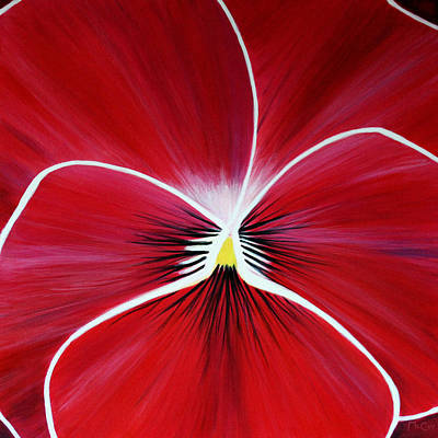 Painting - Flower Abstract 3 by K McCoy