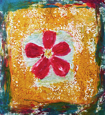 Painting - Wax Flower And Lace by Patricia Beebe