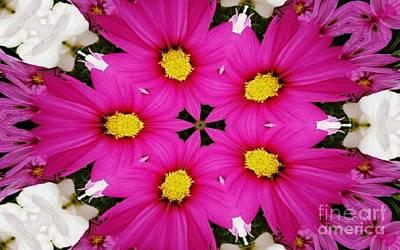 Digital Art - Flower Art by D Hackett