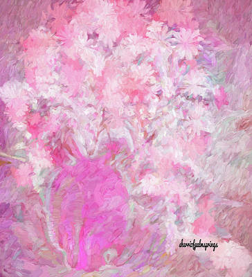Digital Art - Flower Art The Scent Of Love Is In The Air by Sherri Of Palm Springs