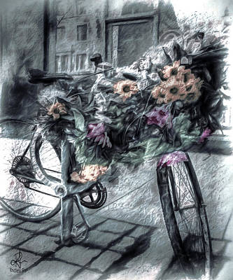 Photograph - Flower Bike by Pennie  McCracken