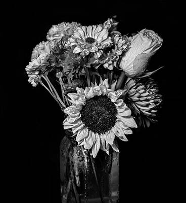 Photograph - Flower Bouquet by Lilia D