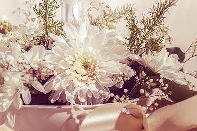 Flower Bouquet Art Print by Thubakabra