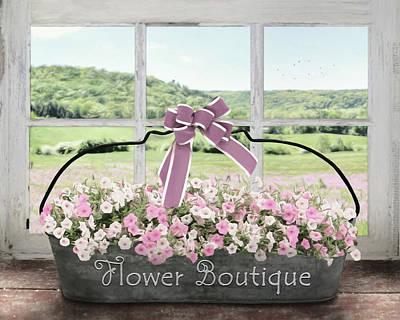Photograph - Flower Boutique by Lori Deiter