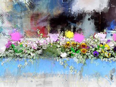 Flower Box Art Print by James Metcalf