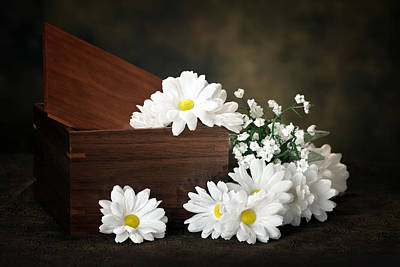 Wood Box Photograph - Flower Box by Tom Mc Nemar