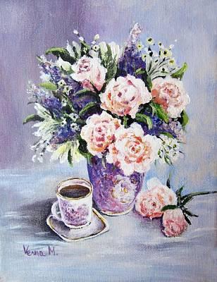 Painting - Flower Break by Vesna Martinjak