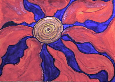 Flower Burst #2 Art Print by Ronda Mosley