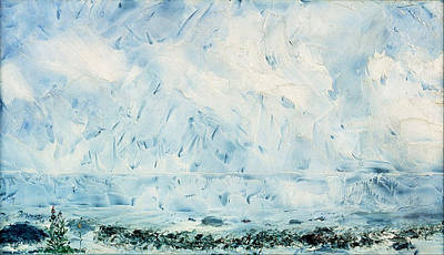 August Strindberg Painting - Flower By The Shore by August Strindberg
