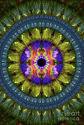 Science Fiction Royalty-Free and Rights-Managed Images - Flower Carpet by Raphael Terra