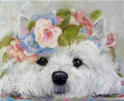 Flower Child Art Print by Mary Sparrow