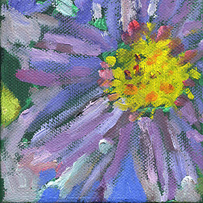 Painting - Flower Chrysanthemum by Kathleen Barnes