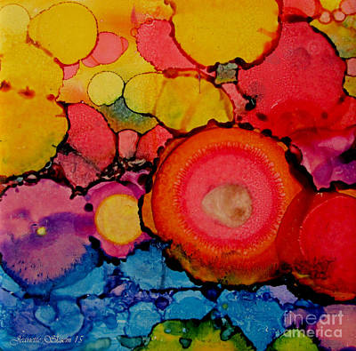 Painting - Flower Color Palette   by Jeanette Skeem