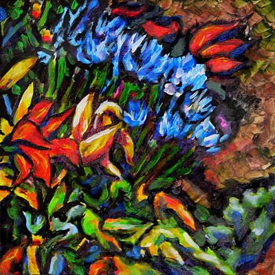 Flower Culture 222 Art Print by Laura Heggestad