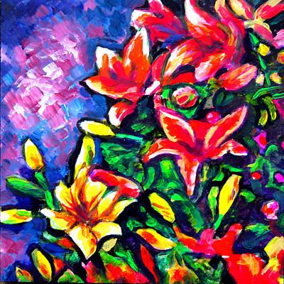 Flower Culture 297 Art Print by Laura Heggestad
