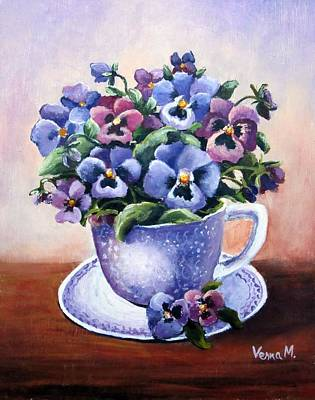 Painting - Flower Cup  by Vesna Martinjak
