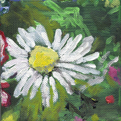 Painting - Flower Daisy by Kathleen Barnes