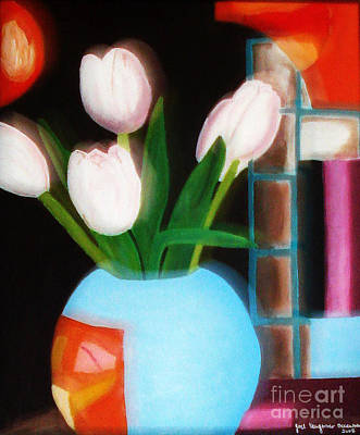 Painting - Flower Decor by Yael VanGruber