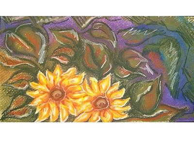 Flower Doodle Art Print by Candice DeKay