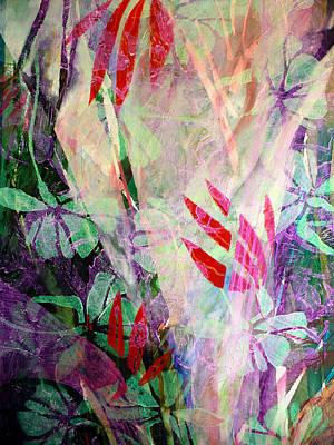 Flower Eruption Art Print by Sue Reed