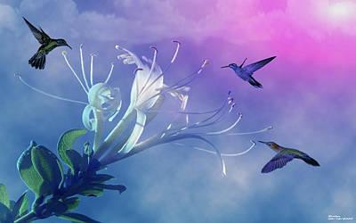Flower  Art Print by Evelyn Patrick
