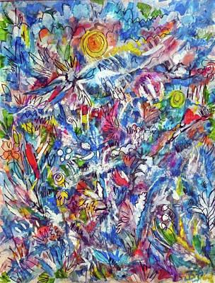 Painting - Effulgence by Jean Batzell Fitzgerald