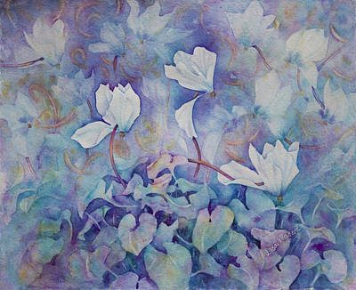 Painting - Flower Faeries by Lisa Vincent